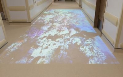 An engaging interactive floor for Great Ormond Street Hospital